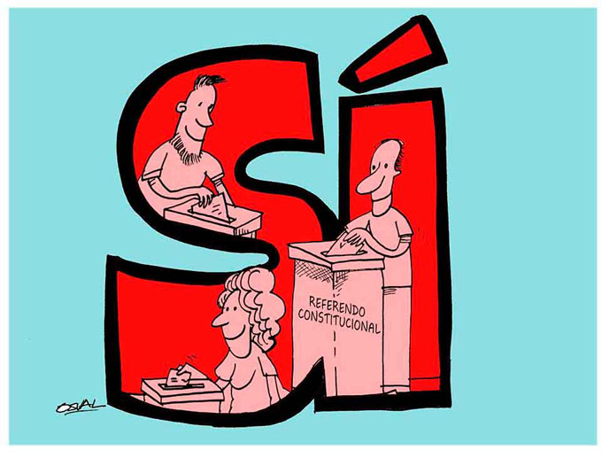 Comisión Electoral Nacional prepara condiciones para referendo constitucional