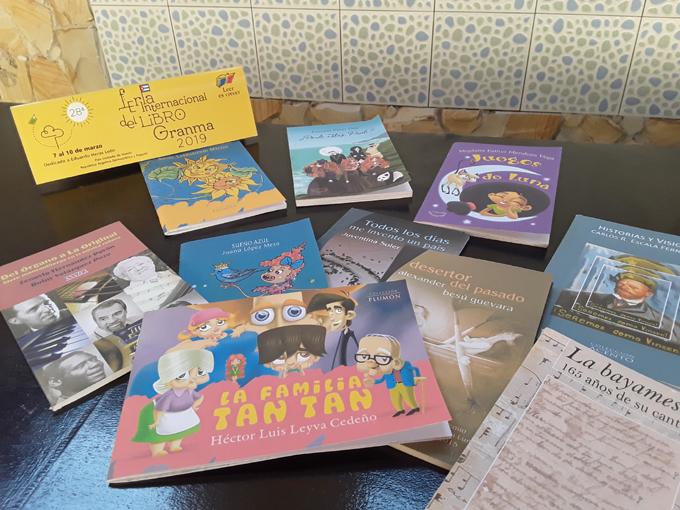 Editoriales granmenses con novedades en la Feria del Libro 2019(+vídeos)
