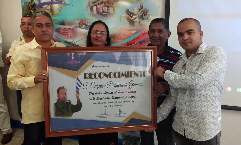 Empresa pesquera de Granma es la mejor de Cuba (+ fotos)