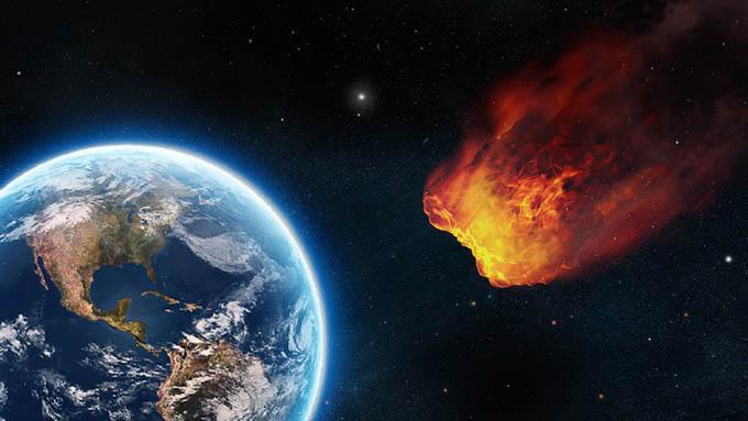 Predicen posible choque de asteroide contra la Tierra