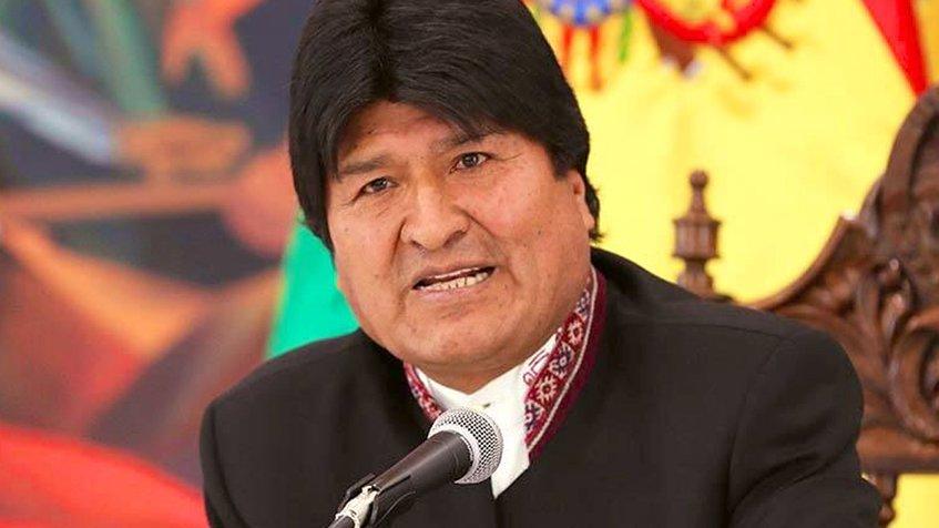 Evo Morales insta a la UE a rechazar agresiones contra Venezuela(+vídeo)