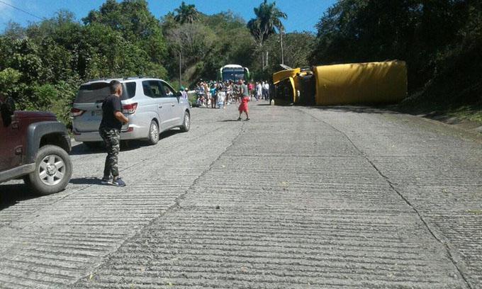 Accidente de tránsito en Bartolomé Masó sin daños humanos