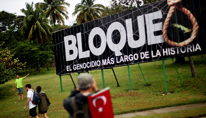 Entrada en vigor del bloqueo EE.UU. contra Cuba cumple 57 años