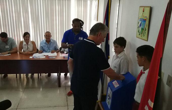 Este 24 de febrero es día de continuidad, asegura Díaz-Canel (+ video)