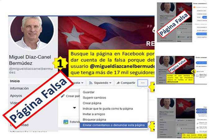 Denuncian en Cuba nueva fake news sobre presidente Díaz-Canel