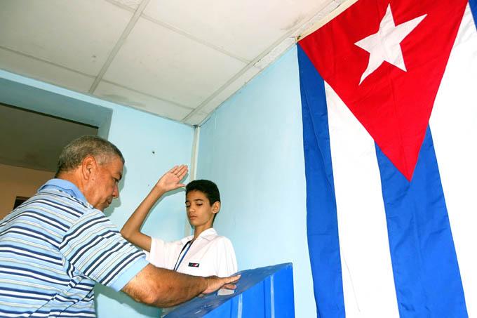 Estudiantes cubanos velarán por la transparencia del referendo
