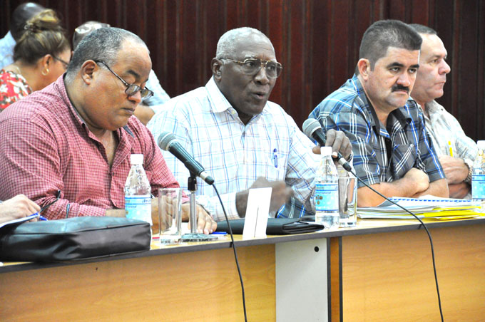 Llama Valdés Mesa a revitalizar métodos y estilos de trabajo en la Agricultura