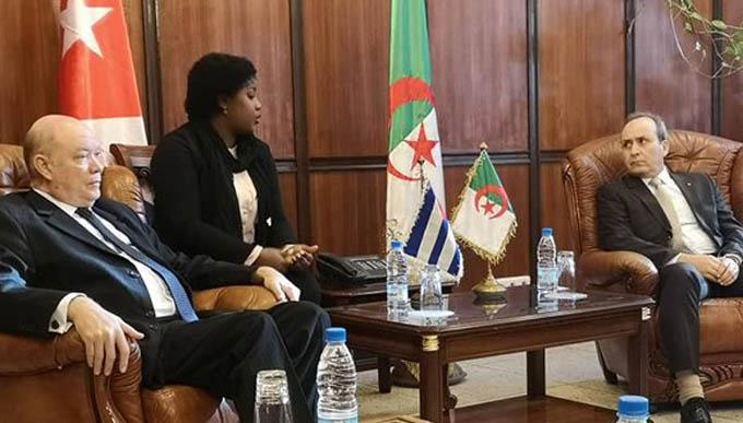 Cuba y Argelia trabajan para elevar nexos económicos-comerciales