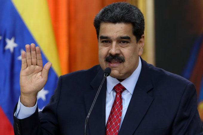 Maduro ratifica disposición al diálogo por la paz en Venezuela