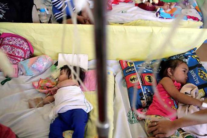 Sarampión en Filipinas causa más de 200 muertes en menos de dos meses