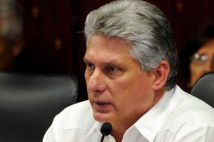 Llama Díaz-Canel a alzar voces contra agresión de EE.UU. a Venezuela(+vídeo)