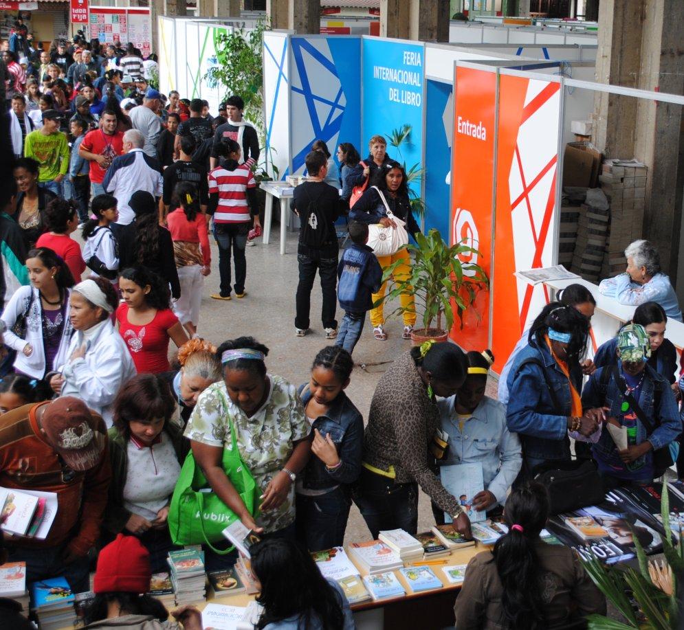Comienza hoy Feria Internacional del Libro de La Habana