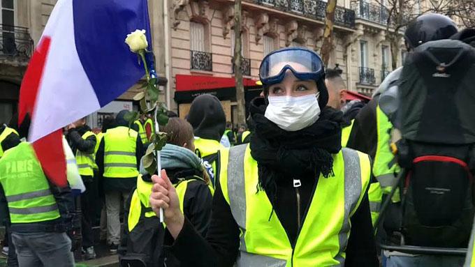Nuevo sábado de movilización de chalecos amarillos en Francia