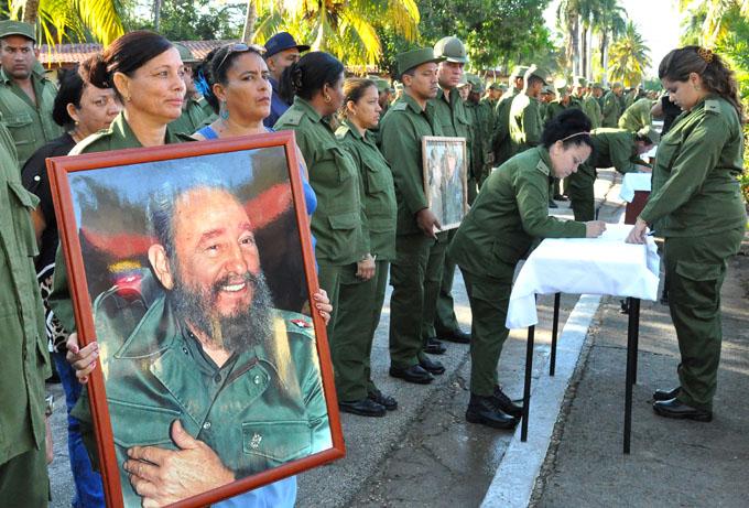 Firman apoyo a Venezuela militares granmenses