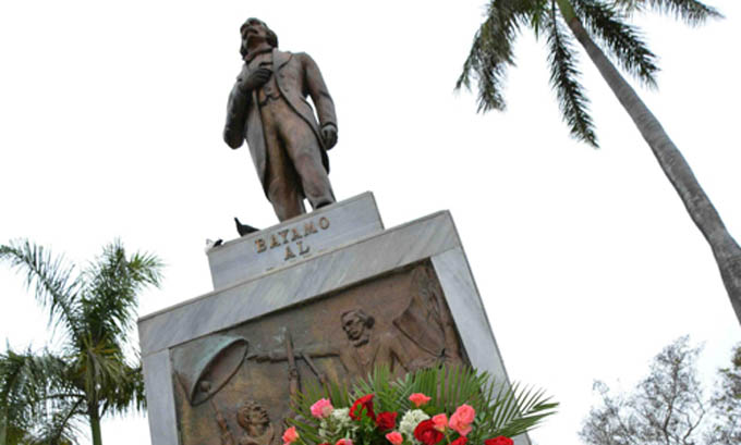 A las puertas evento Hombre de mármol en Bayamo