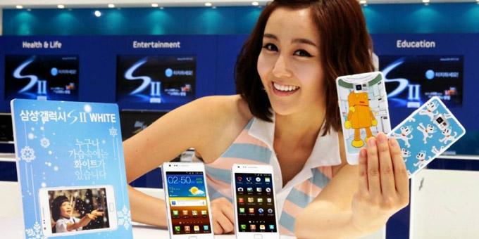 Surcorea es el país con más teléfonos inteligentes, según estudio