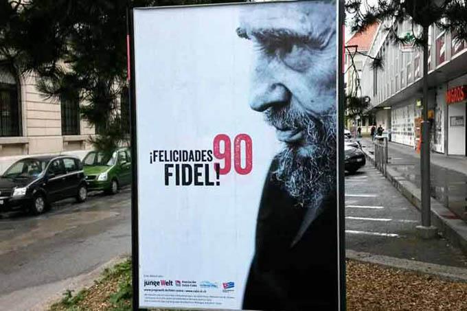 Inauguran en Ginebra exposición dedicada a Fidel Castro