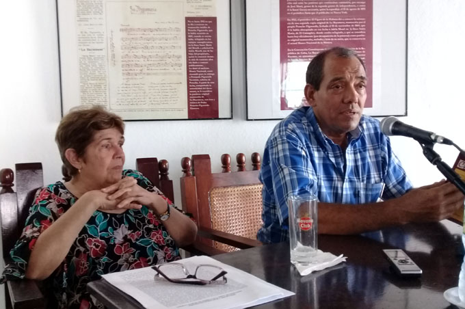 Presentan libro sobre afecciones padecidas por Céspedes (+ fotos y audio)