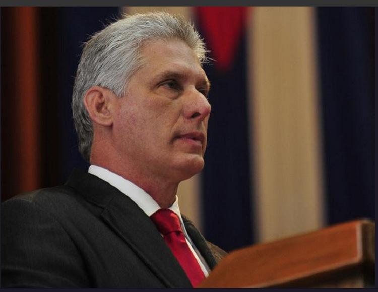 Resalta Presidente cubano apoyo de los venezolanos a la campaña contra Trump (+ Tuit)