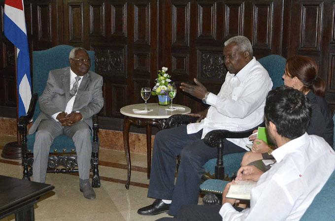 Recibe Esteban Lazo a segundo vicepresidente de Zanzíbar, Tanzania