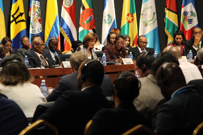 Sesiona en Nicaragua segmento de alto nivel de VIII Cumbre del Caribe