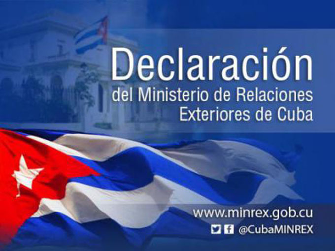 Cuba rechaza decisión de Estados Unidos de obstaculizar viajes de ciudadanos cubanos