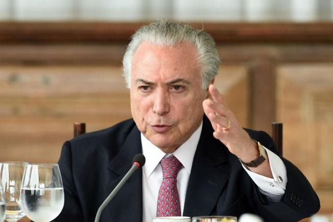Arrestan a expresidente brasileño Michel Temer por corrupción