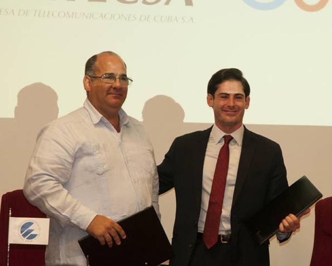 Ingenieros de Cuba y Google trabajarán para mejor tráfico en Internet