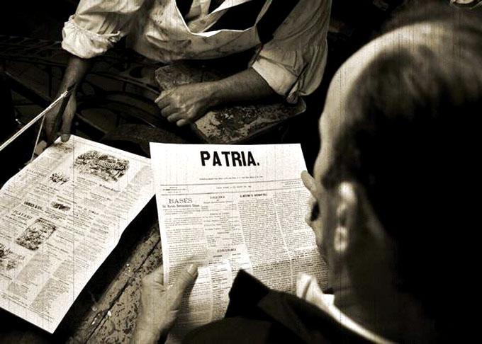 Las letras vivas de Patria