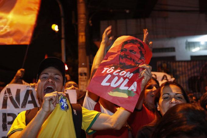 Movilización el 7 de abril en Brasil a año de prisión de Lula