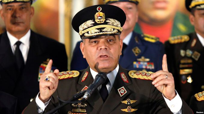 Guerra contra Venezuela afecta a todos por igual — Ministro de Defensa