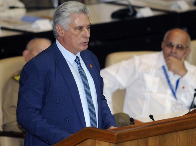 Díaz-Canel denuncia escalada de agresividad de EE.UU.