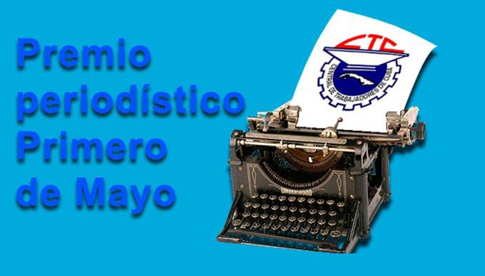 Entregan premios periodísticos Primero de Mayo