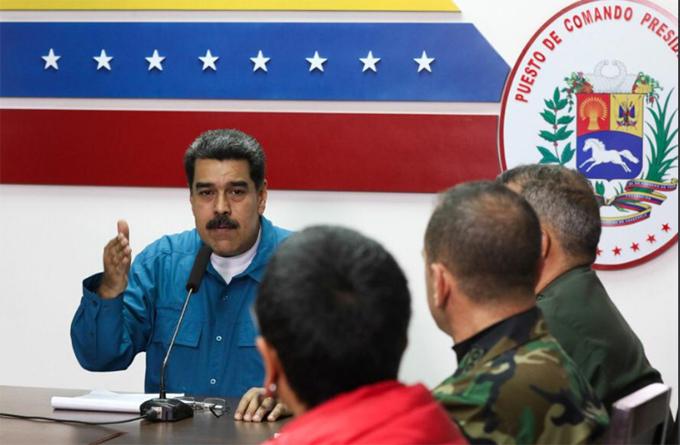Maduro: Venezuela defenderá la soberanía ante ataques injerencistas