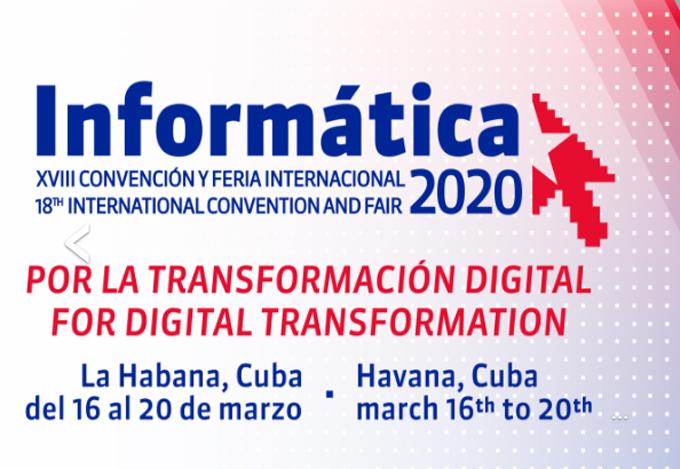 Prevén potenciar la convención y feria Informática 2020 en Cuba
