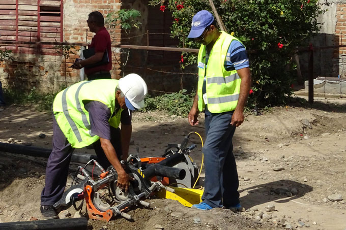 Beneficiadas con servicio de agua más de 12 mil personas
