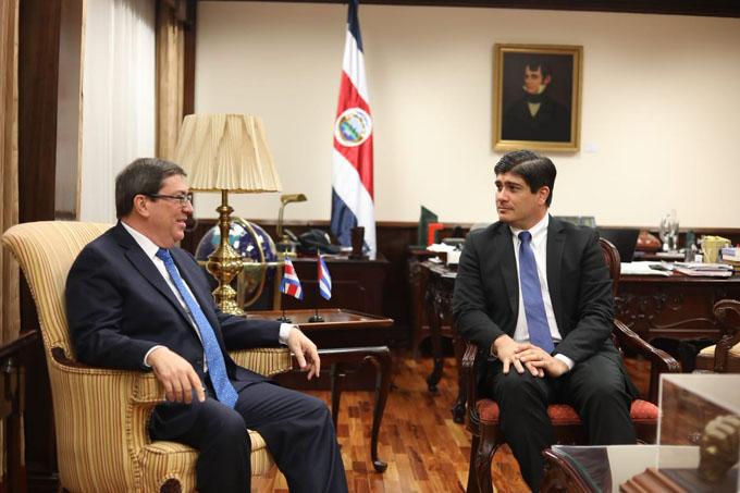 Canciller cubano dialogará con diputados de Costa Rica