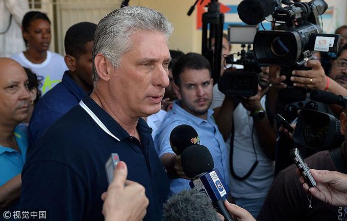 Díaz-Canel: ley Helms-Burton de EE.UU. condena a las familias cubanas (+video)