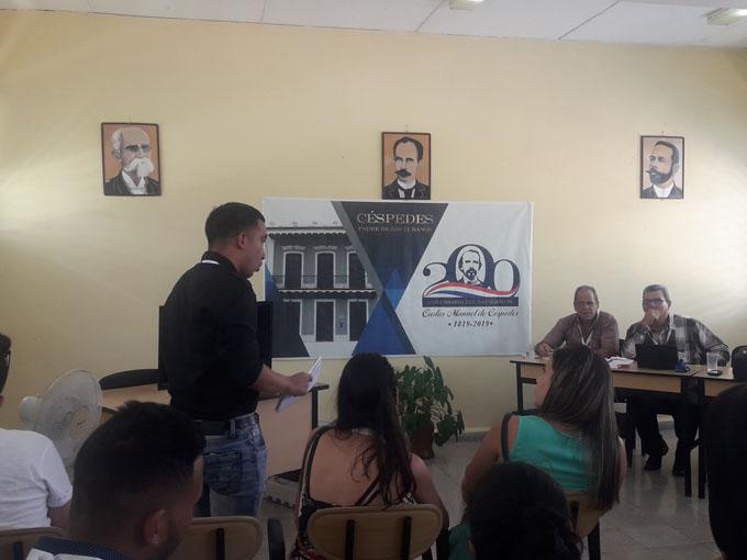 Intercambian estudiantes cubanos durante Congreso nacional de Historia