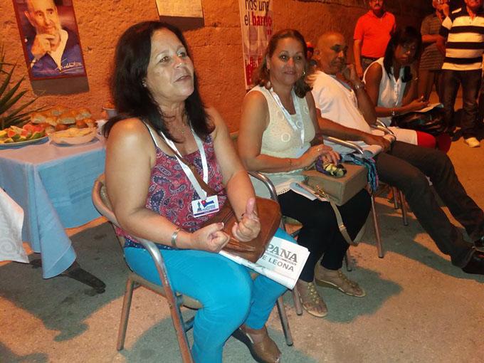 Intercambian historiadores con cederistas bayameses (+ fotos)