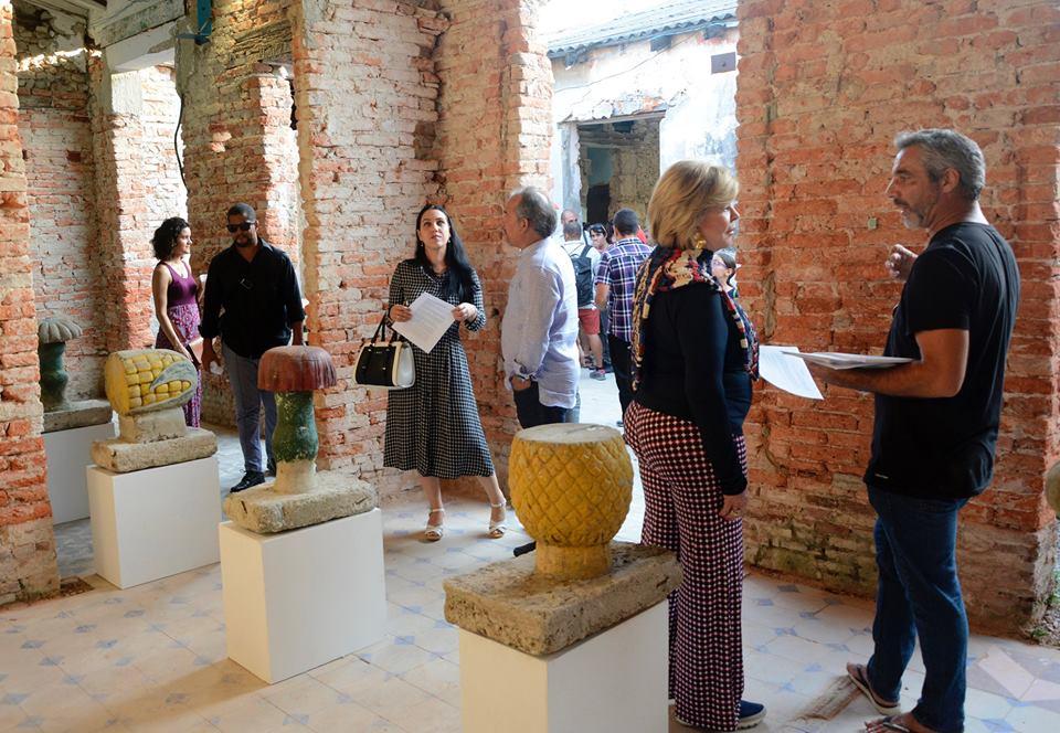Granma en la Bienal de La Habana