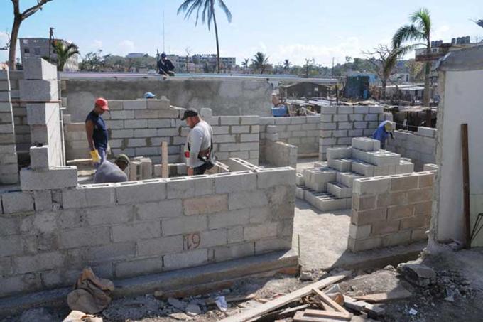 Informan avances en programa cubano de construcción de viviendas