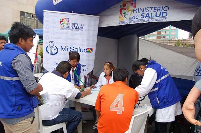Feria de Salud en Bolivia: por la vida, el bienestar y la niñez