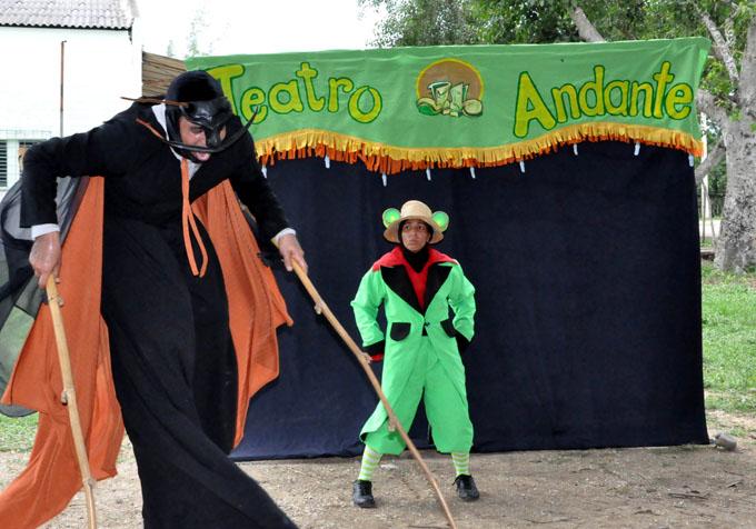 Teatro Callejero Andante representará a Granma en festival matancero (+ fotos y video)