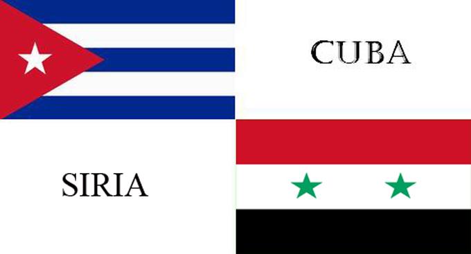 Siria y Cuba por intensificar colaboración entre medios de prensa