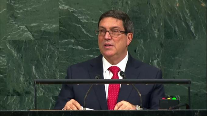 Cuba rechaza chantaje del Gobierno de Estados Unidos