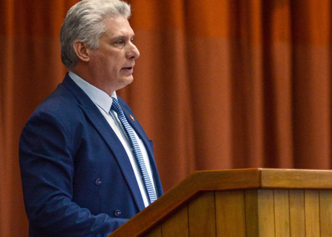 Díaz-Canel recuerda bombardeos de EE.UU sobre territorio cubano (+video)
