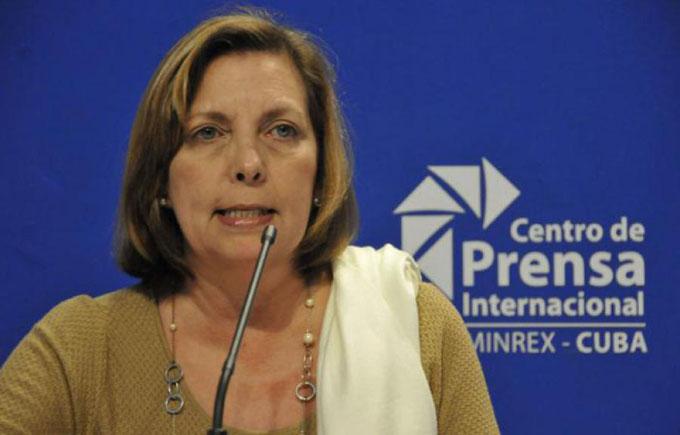 Embajadora de Cuba alerta sobre afectaciones por ley de EE.UU.