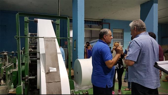 Díaz-Canel realiza visita de trabajo a la provincia de Matanzas (+fotos)
