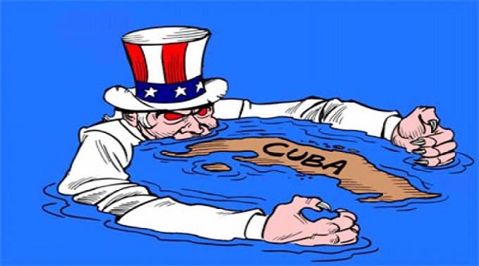 Cubanos en Francia condenan el título III de ley Helms Burton